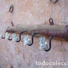 Antigüedades: PERCHERO RUSTICO. Lote 141840162