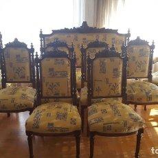 Antigüedades: SILLERÍA ALFONSINA . Lote 141843878
