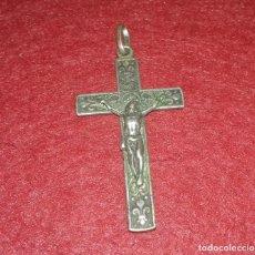 Antigüedades: ANTIGUA CRUZ POSIBLEMENTE PLATA.. Lote 141850182