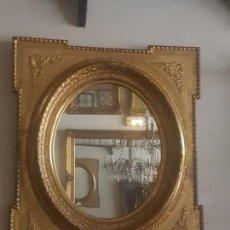 Antigüedades: ESPEJO DORADO ISABELINO. Lote 141853618