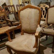 Antigüedades: SILLON ALFONSINO. Lote 141853662