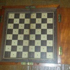 Antigüedades: TABLERO DE VIAJE AJEDREZ. Lote 144820296