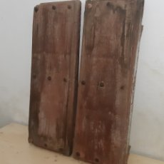 Antigüedades: PAREJA DE CONTRA VENTANAS MUY ANTIGUAS. Lote 139530010