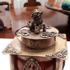 Antigüedades: EXCEPCIONAL TINTERO CHINO ANTIGUO. Lote 141887338