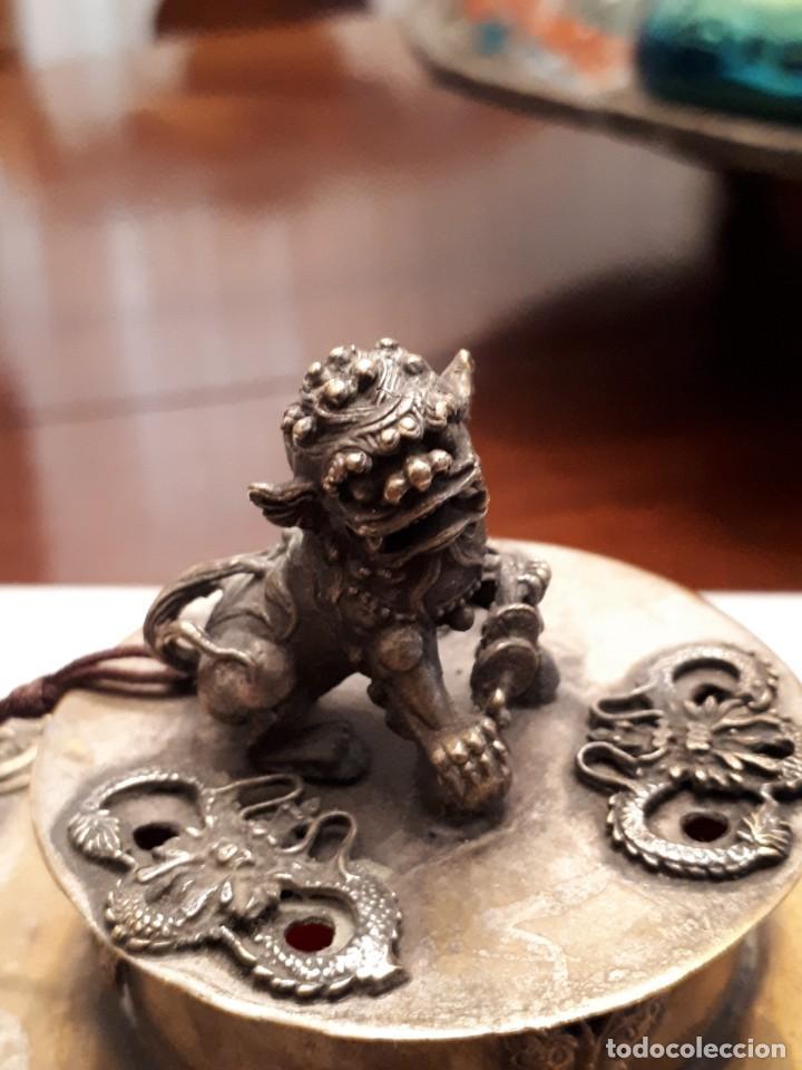 Antigüedades: Excepcional tintero chino antiguo - Foto 2 - 141887338