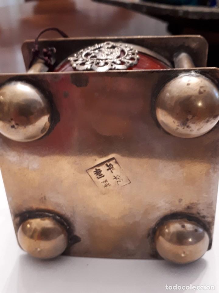 Antigüedades: Excepcional tintero chino antiguo - Foto 3 - 141887338