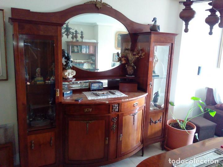 APARADOR DE CAOBA (Antigüedades - Muebles Antiguos - Aparadores Antiguos)
