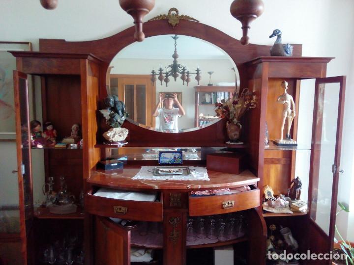 Antigüedades: Aparador de caoba - Foto 3 - 141900290