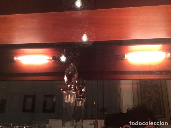 Antigüedades: Mueble Vitrina expositor con luz - Foto 2 - 141933730