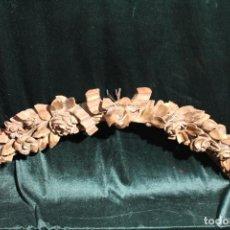 Antigüedades: REMATE DE TALLA DE MADERA. Lote 141938870