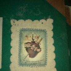 Antigüedades: ANTIGUO ESCAPULARIO SAGRADO CORAZÓN DE MARÍA. Lote 141942996