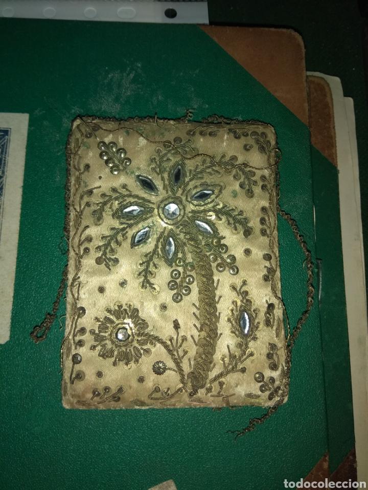 Antigüedades: Antiguo Escapulario del siglo XVIII - Foto 2 - 141944185