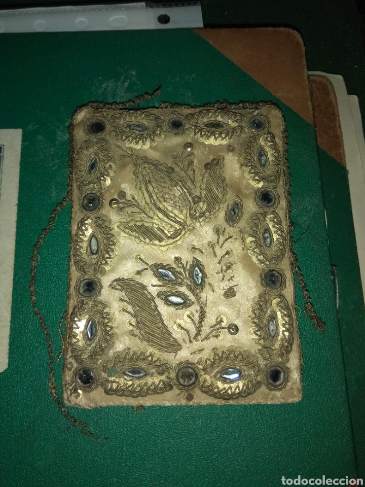 Antigüedades: Antiguo Escapulario del siglo XVIII - Foto 3 - 141944185