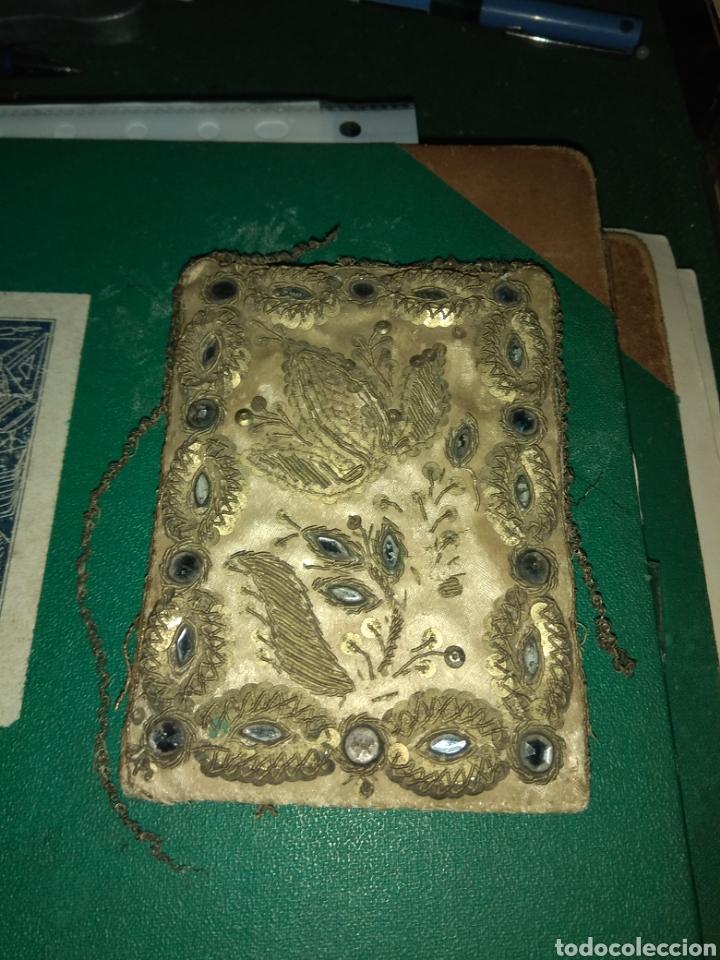 Antigüedades: Antiguo Escapulario del siglo XVIII - Foto 4 - 141944185