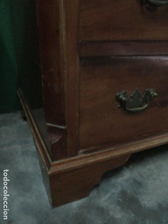 Antigüedades: Escritorio - Vitrina, Librería - Estilo Victoriano - Madera de Caoba - Años 40 - Foto 6 - 142020958