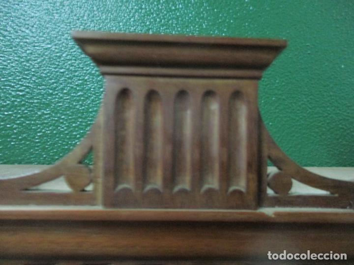 Antigüedades: Escritorio - Vitrina, Librería - Estilo Victoriano - Madera de Caoba - Años 40 - Foto 32 - 142020958