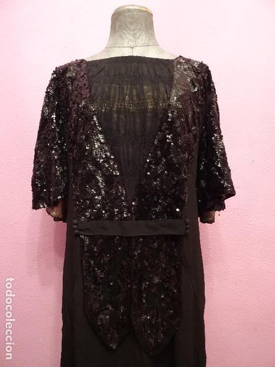 Antigüedades: Vestido Art Deco - Foto 2 - 142027658
