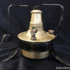 Antigüedades: FANTASTICO FOGON O HORNILLO DE LATON Y HIERRO, EN PERFECTO ESTADO. Lote 142034398