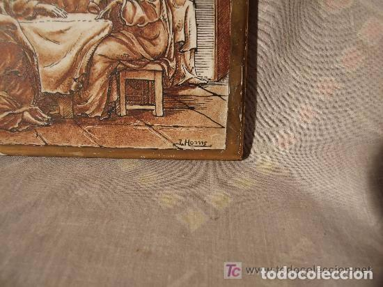 Antigüedades: AZULEJOS CERAMICA SANTA CENA, FDO. J. HOMS,ALCORA - Foto 2 - 142040142