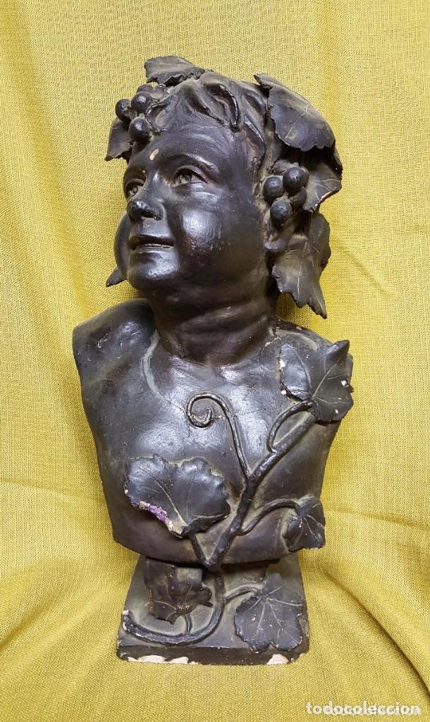 BUSTO MODERNISTA PARA RESTAURAR (Antiquitäten - Wohnen und Dekoration - Antike Figuren)