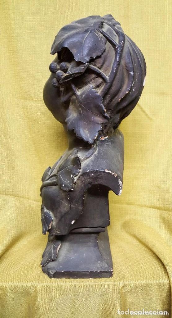 Antiquitäten: BUSTO MODERNISTA PARA RESTAURAR - Foto 3 - 142041738