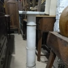Antigüedades: COLUMNA DE MARMOL. Lote 142044754