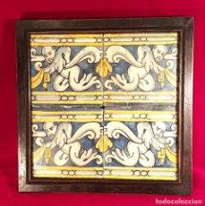 Antigüedades: AZULEJOS CATALANES SIGLO XVII. Lote 142084058