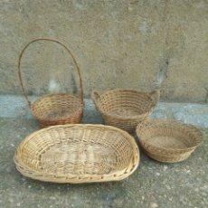 Antigüedades: LOTE DE MIMBRES. Lote 142086909