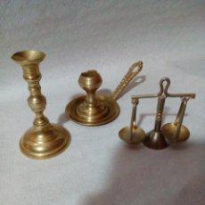 Antigüedades: LOTE DE UTENSILIOS DE METAL EN MINIATURA. Lote 142110414