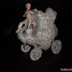 Antigüedades: ESPECTACULAR PORCELANA ALEMANA, FF. SIGLO XIX. Lote 142111698