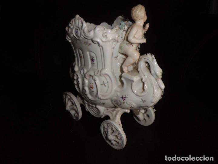 Antigüedades: ESPECTACULAR PORCELANA ALEMANA, FF. SIGLO XIX - Foto 5 - 142111698