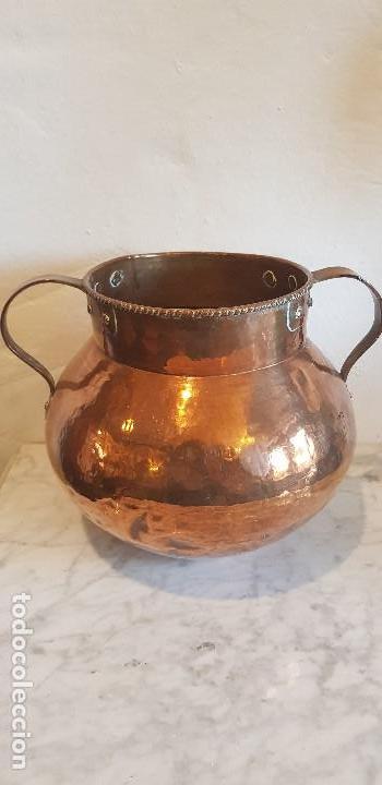OLLA DE COBRE (Antigüedades - Técnicas - Rústicas - Utensilios del Hogar)