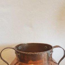 Antigüedades: OLLA DE COBRE. Lote 142115554