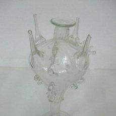 Antigüedades: ANTIGUA ALMORRACHA, ALMURRATXA - BOTIJO, CRISTAL SOPLADO - VIDRIO CATALÁN - S. XVIII-XIX. Lote 142123006
