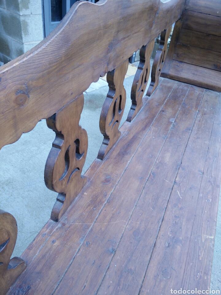 Antigüedades: Banco tallado - Foto 6 - 142139128