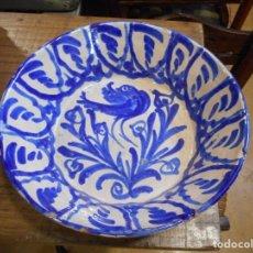 Antigüedades: FUENTE DE CERÁMICA GRANADINA. Lote 142150766