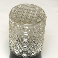 Antigüedades: LAMPARA TECHO DE CRISTAL. Lote 142169166