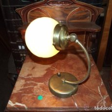 Antigüedades: LAMPARA SOBREMESA VINTAGE 1950-1960, ELECTRIFICADA. Lote 142178346