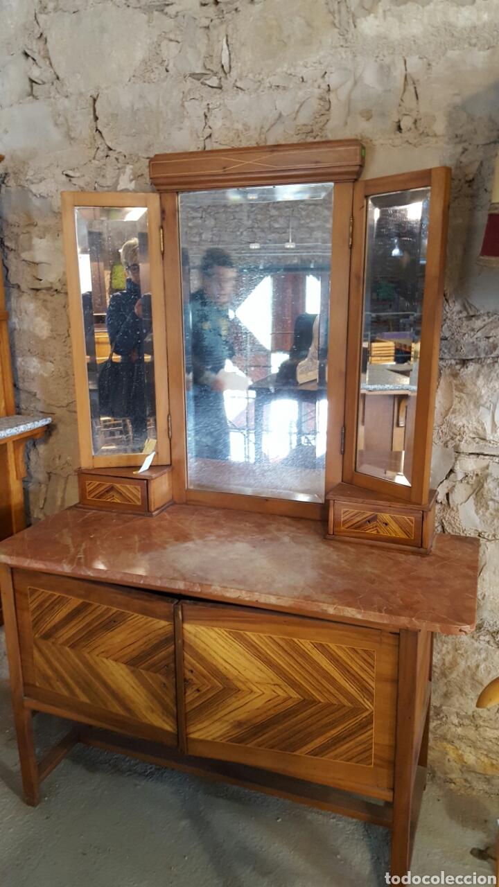TOCADOR ANTIGUO VINTAGE (Antigüedades - Muebles - Cómodas Antiguas)