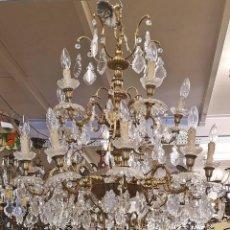 Antigüedades: LAMPARA DE TECHO 15 LUCES. . Lote 142203306