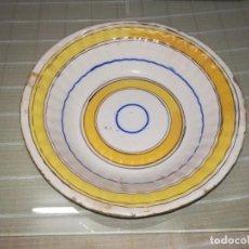 Antigüedades - Muy Antiguo y raro plato hondo de Triana miren fotos - 142203882
