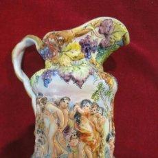 Antigüedades: JARRA CAPODIMONTI. Lote 142208778
