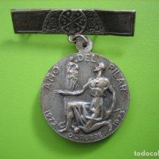 Antigüedades: MEDALLA ANIVERSARIO VIRGEN DEL PILAR. ZARAGOZA. Lote 142211426