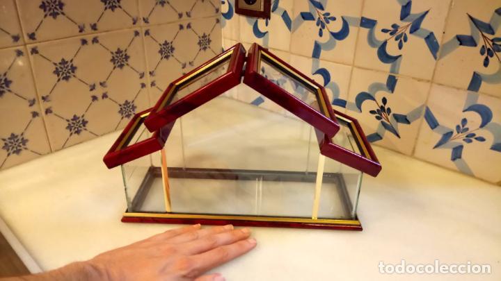 Antigüedades: Antigua casa / invernadero de cristal con tapas de los años 70-80 - Foto 5 - 142212474
