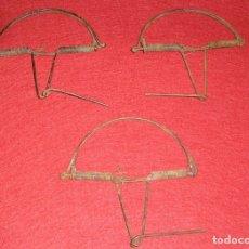 Antigüedades: 3 TRAMPAS PARA PAJAROS. Lote 142214204