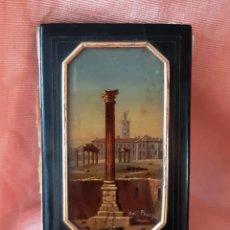 Antigüedades: CARNET DE BAILE SIGLO XIX CON MINIATURA PINTADA. GRAND TOUR. Lote 142221582