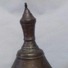 Antigüedades: ANTIGUA ACEITERA ÁRABE. MUY GRANDE, COBRE ANTIGUO, MUY BONITA Y SE HA USADO. LA MÁS GRANDE DE TC.. Lote 142250785