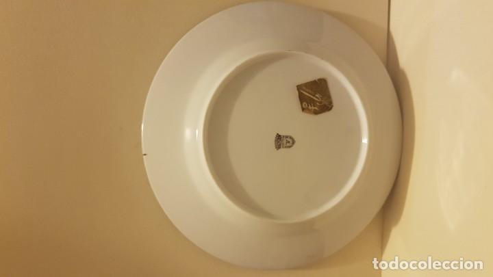 Antigüedades: PLATO EN PORCELANA LIMOGES FRANCIA - Foto 5 - 142282210