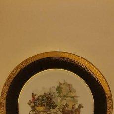 Antigüedades: PLATO EN PORCELANA LIMOGES FRANCIA. Lote 142282210