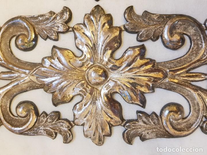 Antigüedades: Dos apliques de plata. Siglo XVIII - Foto 2 - 142283882